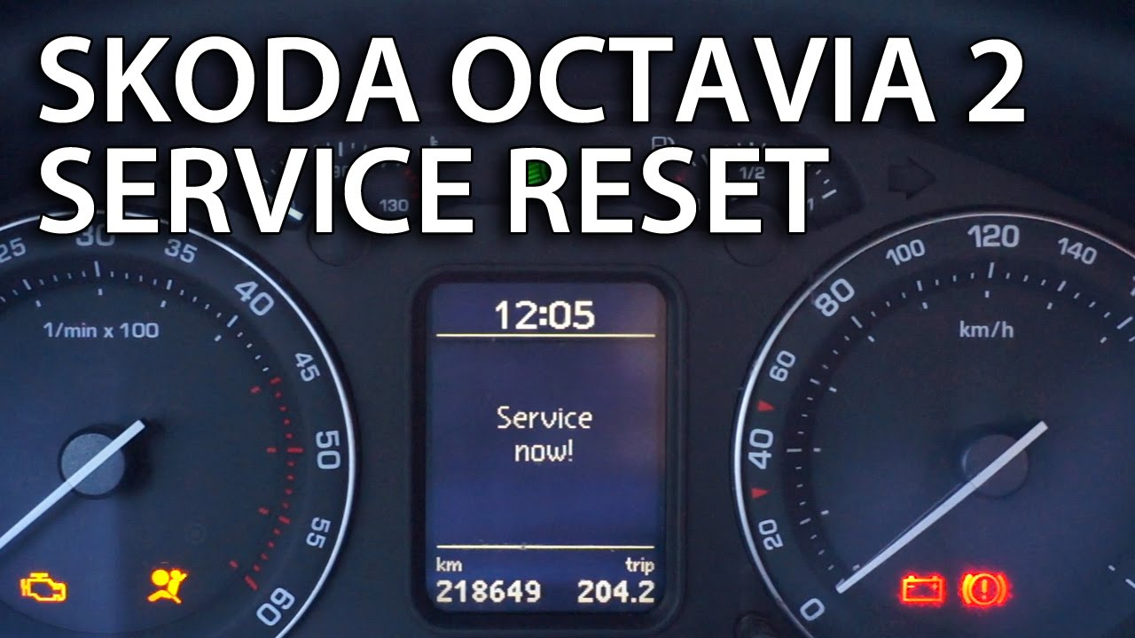 How To Reset Service Reminder Indicator In Skoda Octavia