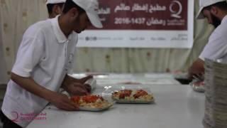 أحد مطابخ قطر الخيرية في الغوطة الشرقية 1437 هـ