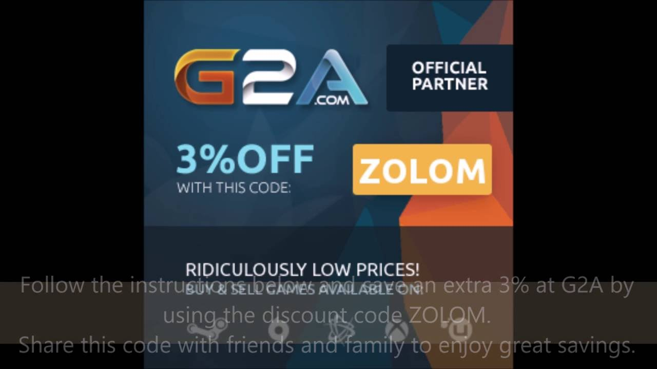 G2a discount coupon