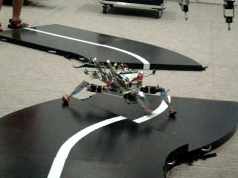 Fastest Legged Robot T Singapore Robotic Games 2010