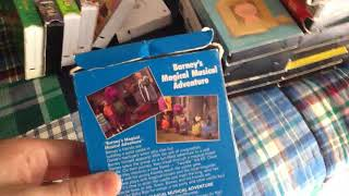 Barney's Magical Musical Adventure 1993 VHS