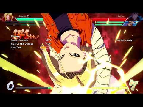 DBFZ - Black ToD combo w/ Beerus assist and lvl 1 resets to 18 lvl. 3 (7 Bars Sparking, ToD)