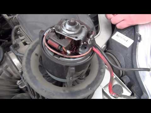 Ремонт вентилятора печки форд фокус 3.