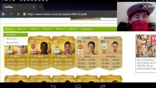 Fifa 15 pack opening lemon juice challenge Thumbnail
