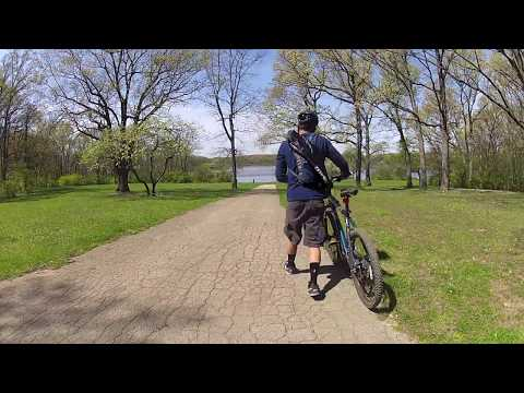 Palos Forest Preserve Mountain Biking GoPro HD HERO2