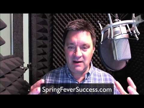Spring Fever Voice Over Success Sale!