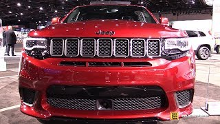 2019 Jeep Grand Cherokee Trackhawk - Exterior and Interior Walkaround - Detroit Auto Show 2019