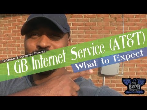 1GB Fiber Internet Service AT&T | What to Expect
