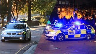 Metropolitan Police Traffic units responding/on scene compilation.
