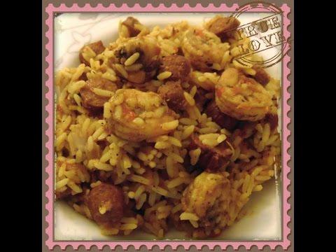 How To Cook Shrimp and Sausage Jambalaya Rice: A Louisiana Creole Recipe  – DIY Food Tutorial