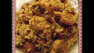 How To Cook Shrimp And Sausage Jambalaya Rice: A Louisiana Creole Recipe  - Diy Food Tutorial