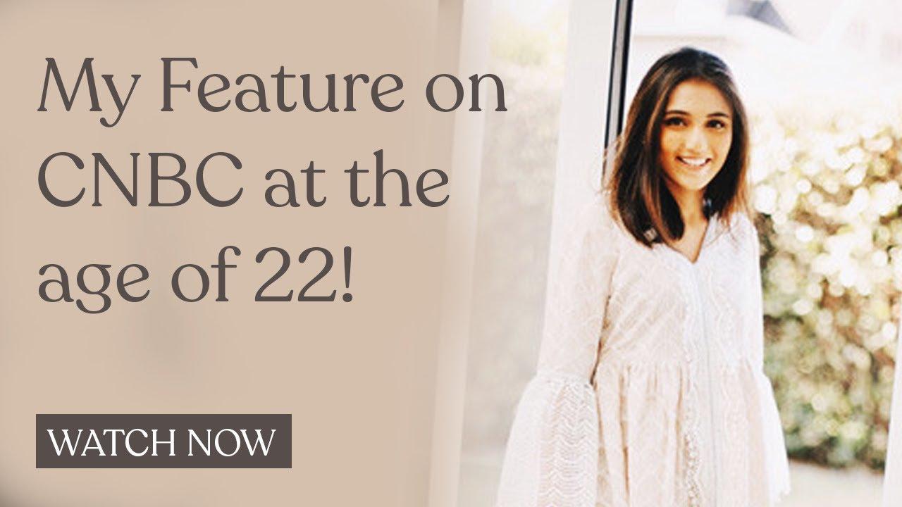 CNBC Awaaz show #StartupNews ft  Masoom Minawala & Style Fiesta