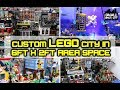Custom LEGO City Layout and Display! 62,000 pieces.