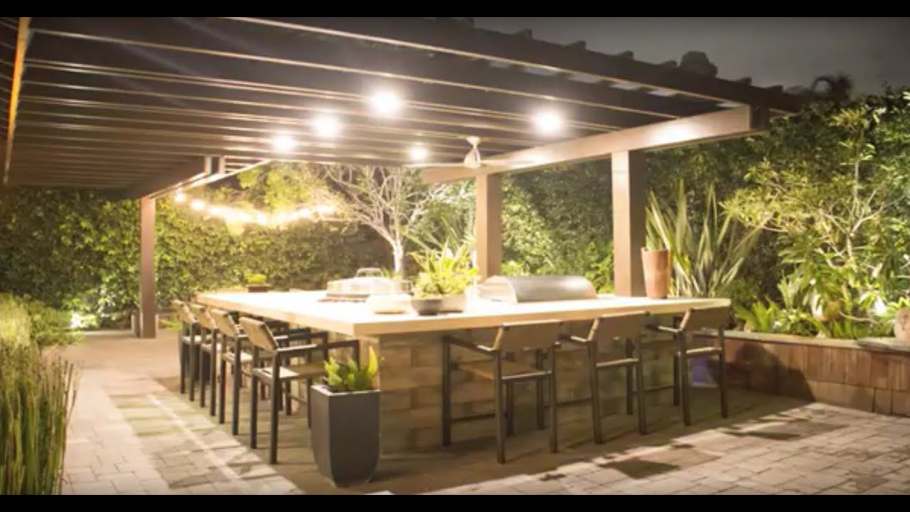 Sam's Project - Outdoor Kitchen Makeover - YouTube on Patio Kitchen  id=18380