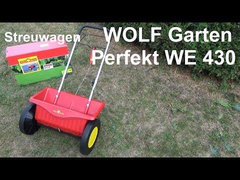 Wolf Garten Streuwagen Perfekt We 430 Test Montage Und Rasen Dungen Im Herbst Youtube