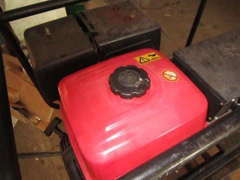 Какой бензин заправлять в бензиновый генератор? Пример Honda EC 6000