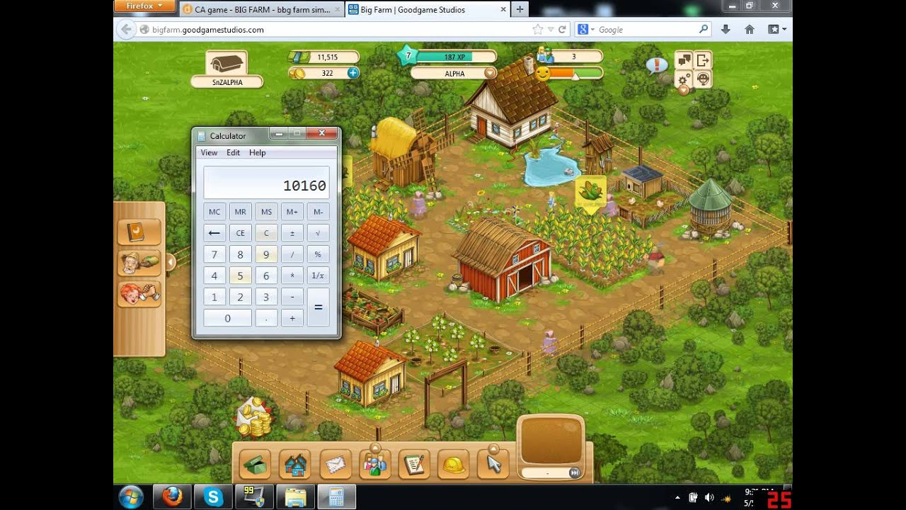 Farm Browsergame