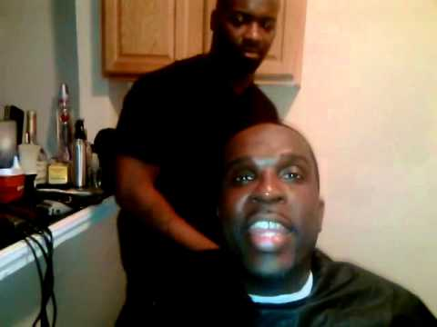 ny barber exam how to cut ATL BOSS WESTSIDE BLUE!!!