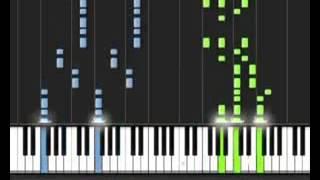 Как сыграть на пианино Пираты Карибского моря