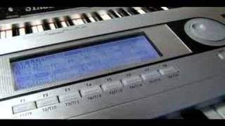 Reggaeton Beat Sequencing: Korg Triton Keyboard Lessons : Live Sequencing: Korg Keyboard Lessons