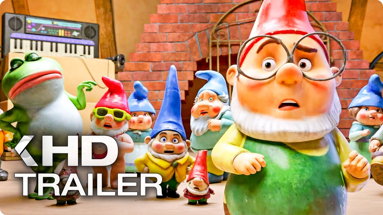 SHERLOCK GNOMES Trailer German Deutsch (2018) - YouTube