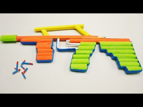 DIY Paper Toy  - How to Make a Paper Gun that Shoots