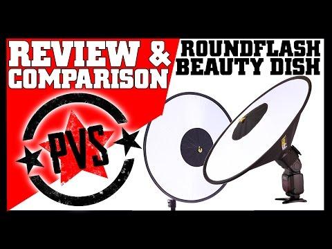 Roundflash Beauty Dish - Portable & Gorgeous!