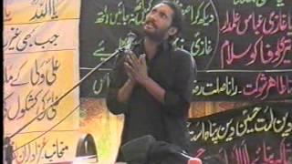 zakir habib raza ashra e moharram 2012 qasr e sakeena s a bhian wala kalan muridke