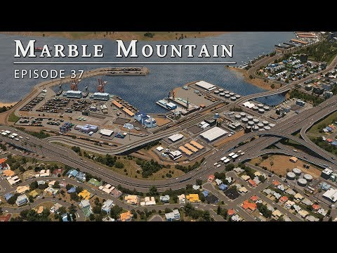 Arcadia - Cities Skylines: Marble Mountain EP 37 |
