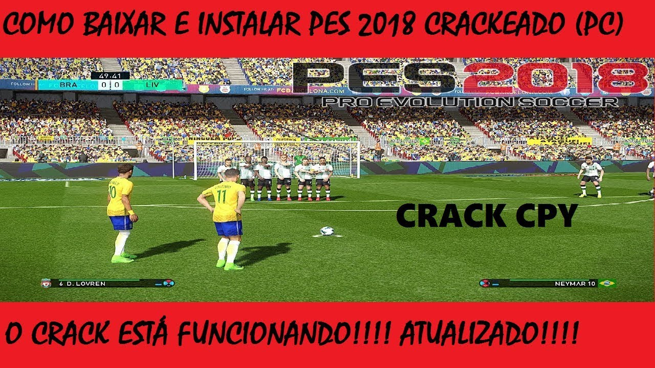 pes 2018 pc download completo portugues crackeado atualizado
