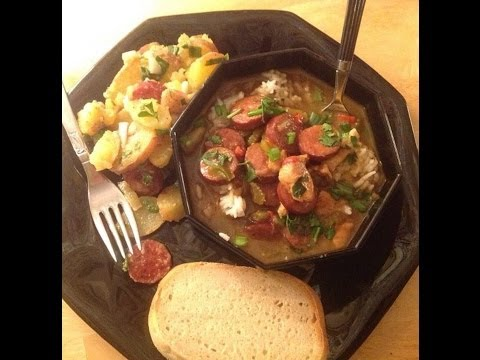 How to Make Chicken and Sausage Filé Gumbo From Scratch! Will Set Any Soul Right!