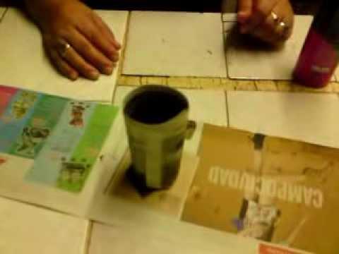 Gnosis - Como hacer maceta degradable