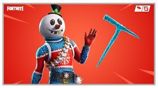 Fortnite: New Slushy Soldier Skin & Slushy Jr. Backpack