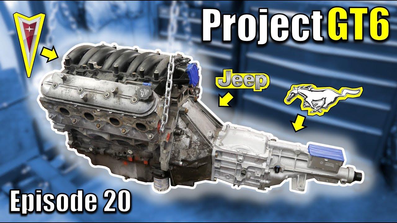 The Cheapest Aluminum LS!  V8 Powered Triumph Restomod - Project GT6 - Ep20 - Fanatik Builds