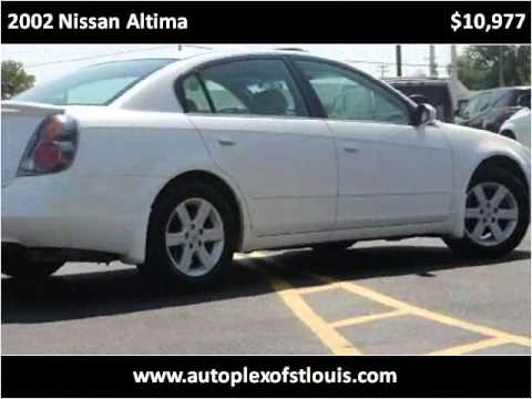 2002 Nissan Altima Used Cars St Louis St Charles MO - YouTube