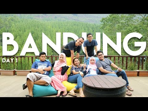 The Lodge Maribaya, Farmhouse, Kampung Daun Cafe - TRAVEL VLOG Bandung Day 1 - DAVLOG #2