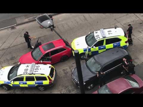 Arrest in Slough, Bath Road