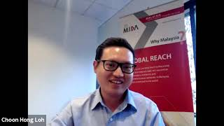 """Staying Global While Staying Home"" featuring Mr Loh Choon Hong, MIDA San Jose Director, Feb 2021"