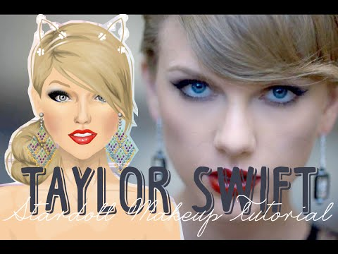 Stardoll Transformation - Taylor Swift Makeup {Blank Space}