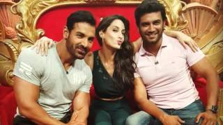 John Abraham in Comedy Nights Bachao for Rocky Handsome
