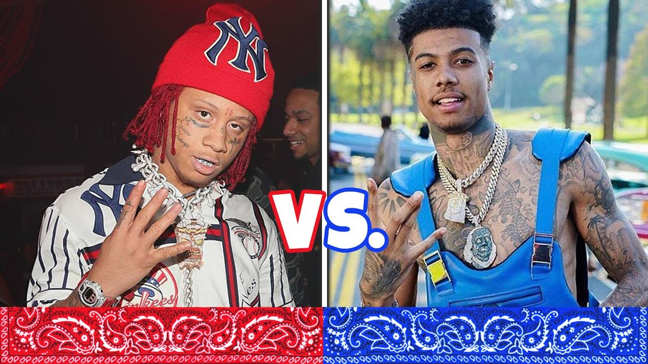 What rappers are crips and bloods
