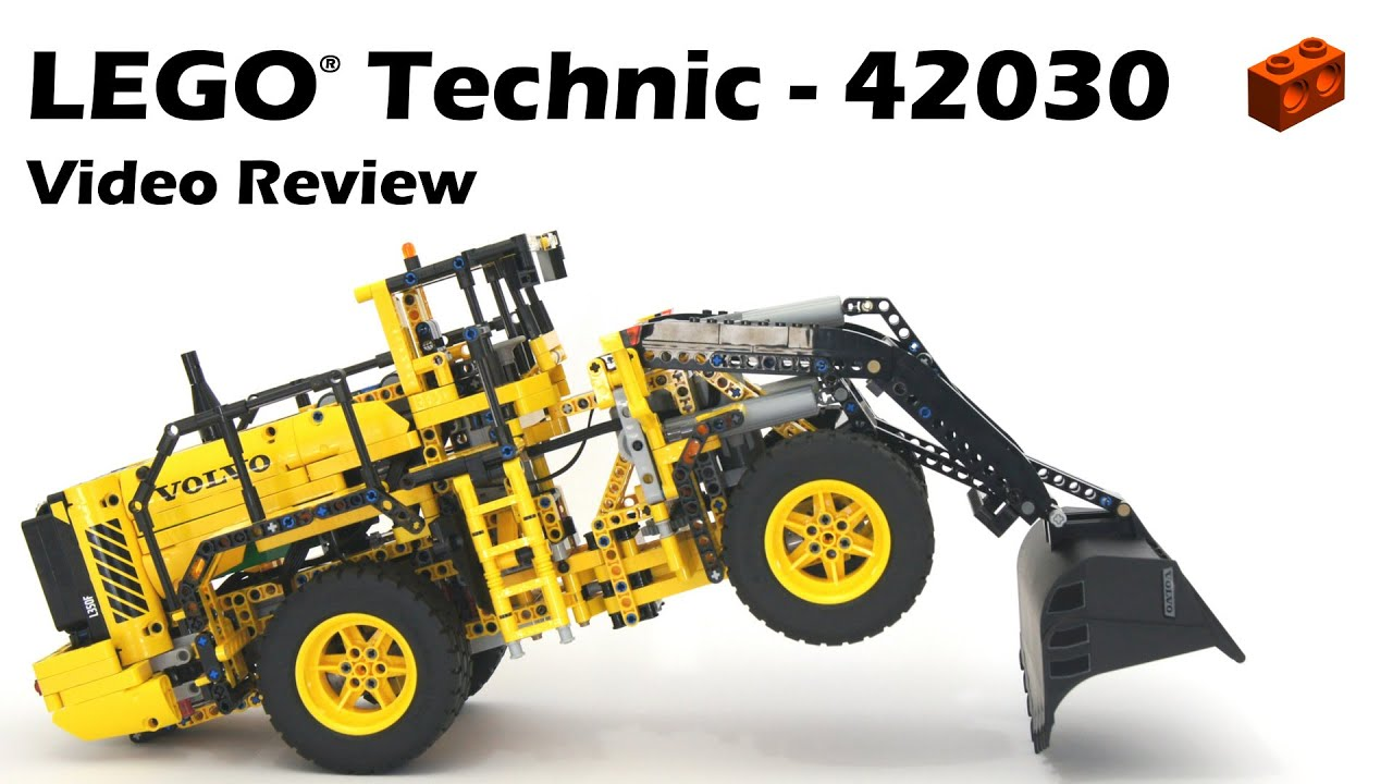 Betere LEGO Technic 42030, Remote-Controlled VOLVO L350F Wheel Loader FV-89