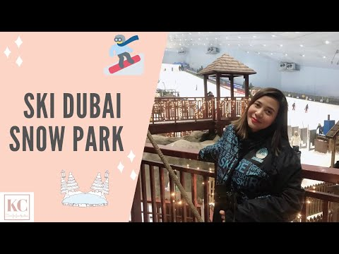 SKI DUBAI MALL OF THE EMIRATES | TAGALOG VLOG