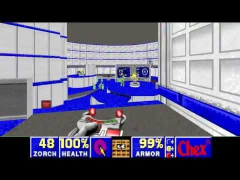 Chex Quest 3 - Super Slimey Difficulty - (E3M1) Central Command