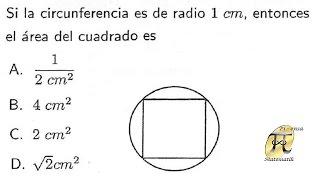 Aplicación del teorema de pitágoras - Problema tipo Universidad Nacional de Colombia