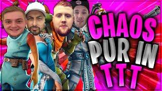 🌚😂 PURES CHAOS! TTT eskaliert mit Trymacs, Mcky & Amar | Fortnite Battle Royale