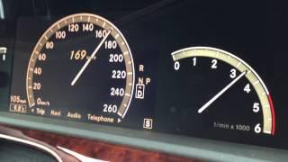 mercedes benz s320 cdi acceleration