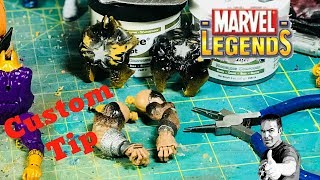 Marvel Legends | Custom Tip | Cracking A Figure Open
