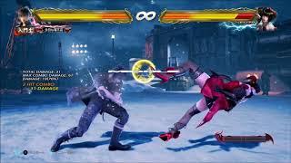 Tekken 7 Noctis u/f+2 Combos | PS4