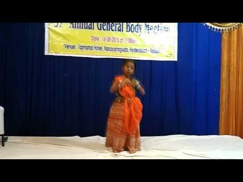 Desam Manade Tejam Manade Dance Performance By Sai Aasritha